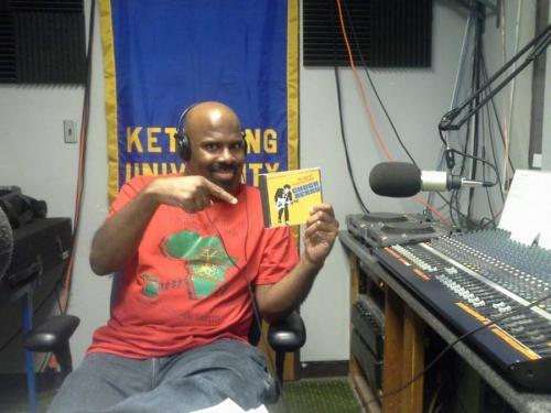 Xavier B Holding Chuck Berry CD